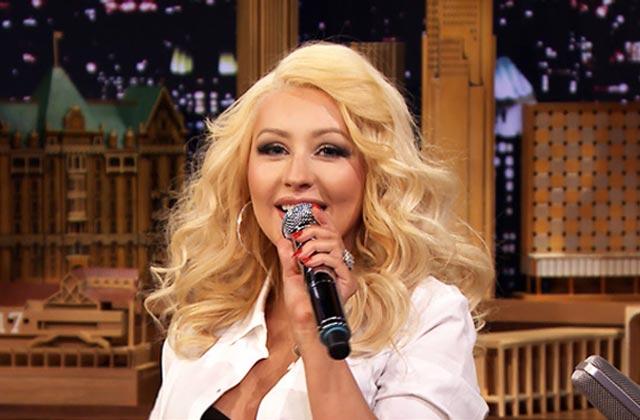 Christina Aguilera imite Britney Spears (entre autres) chez Jimmy Fallon