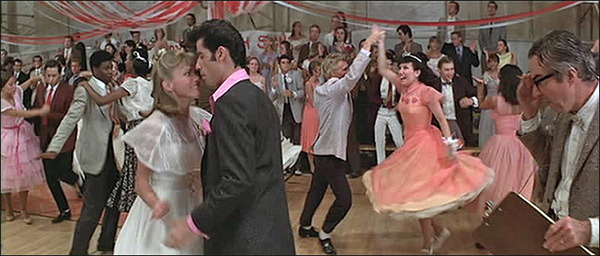 grease dance scene