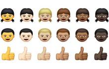 Les emojis se diversifient niveau couleurs de peaux !