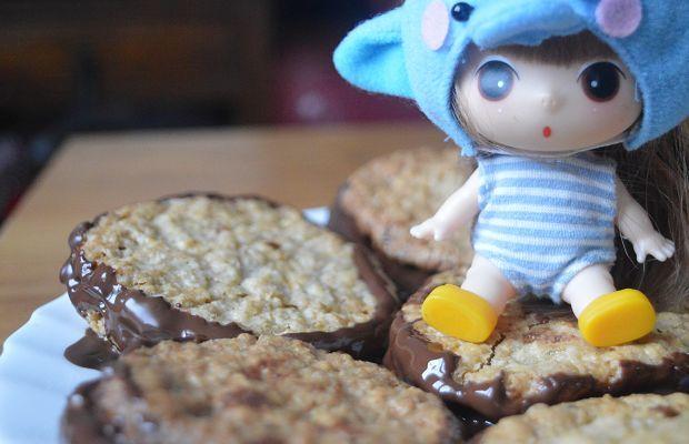 recette galettes suedoises chocolat flocon avoine