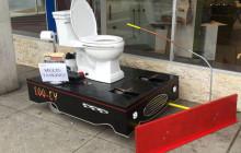 Loo-cy, le chasse-neige/toilettes qui joint l'utile à l'agréable