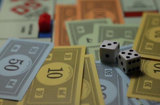Un Monopoly avec… de vrais billets !