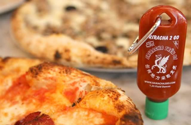 Sriracha2Go, le porte-clé sauce Sriracha pour pimenter ton quotidien