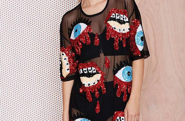 La robe « sequins et hémoglobine » de NastyGal — WTF Mode