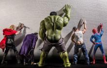 Les super-héros photographiés au quotidien par Edy Hardjo