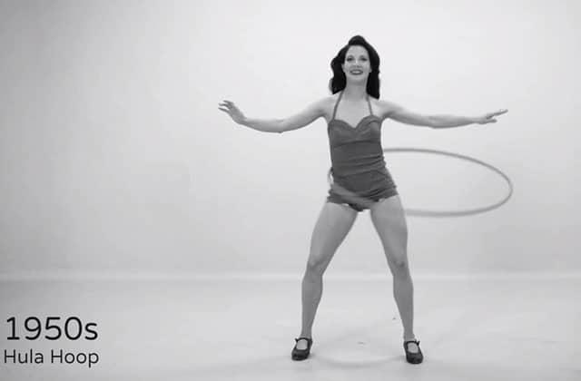 «100 years of fitness», l'évolution de la gym en 100 secondes