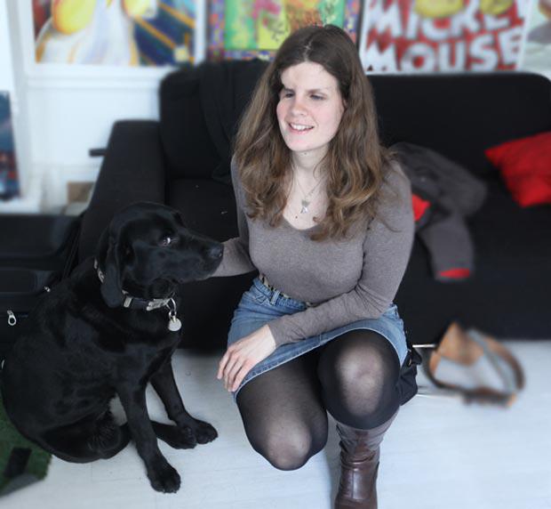 Christelle-benevole-chien-aveugle2
