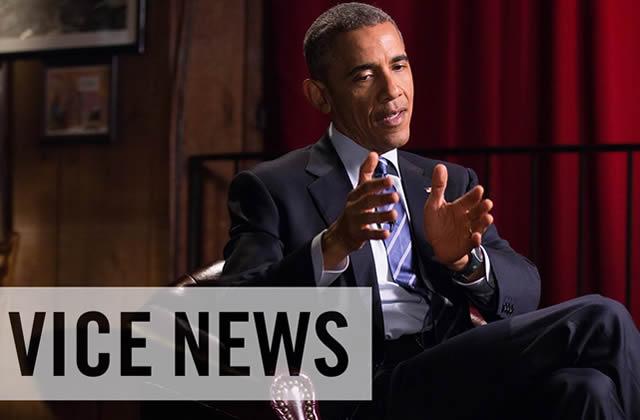 Barack Obama répond aux jeunes sur Vice News