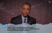 Barack Obama lit des tweets méchants qui lui sont destinés