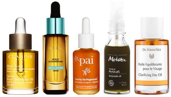 huile visage pour peau mature