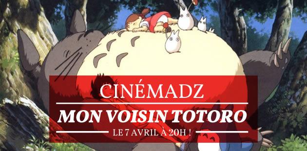 CinémadZ — Mon Voisin Totoro le 7 avril au MK2 Bibliothèque