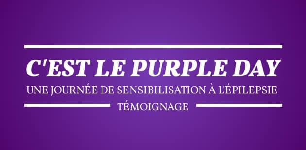 C'est le Purple Day, une journée de sensibilisation à l'épilepsie — Témoignage