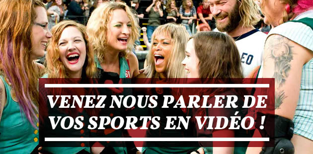 Venez nous parler de vos sports en vidéo !