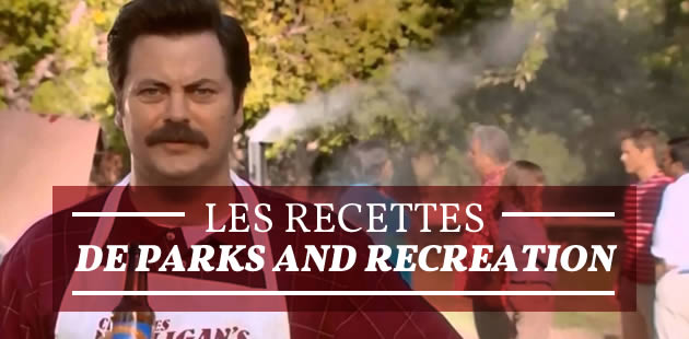 Les recettes de Parks and Recreation