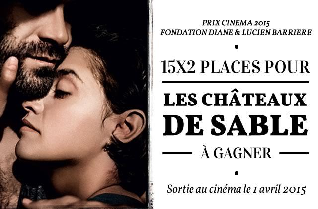 «Les Châteaux de sable» en avant-première à Paris le 30 mars 2015 — 15×2 places à gagner !