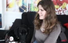 Christelle, bénévole à l'Association nationale des maîtres de chiens guides d'aveugles – Portrait