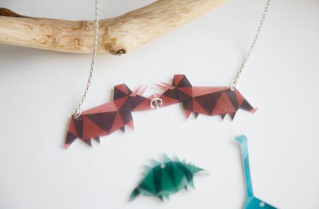 Les colliers en plastique fou : des dinosaures à ton cou !