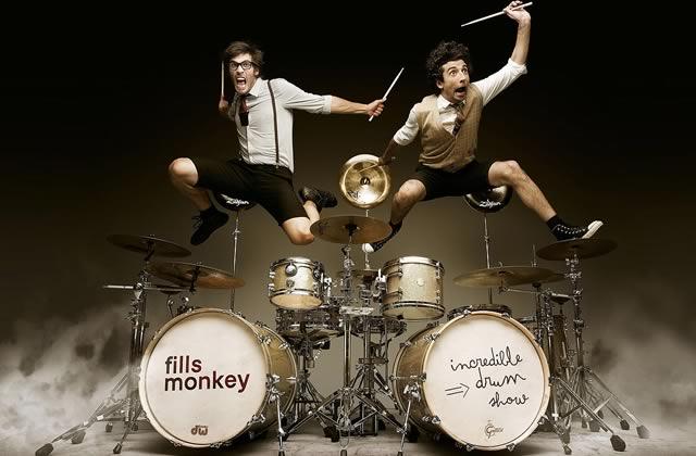Concours — 3×2 places à gagner pour l'Incredible Drum Show des Fills Monkey le samedi 14 mars