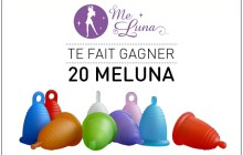 MeLuna fait gagner une coupe menstruelle à 20 madmoiZelles !