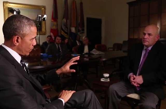 Barack Obama interviewe David Simon, le créateur de «The Wire»