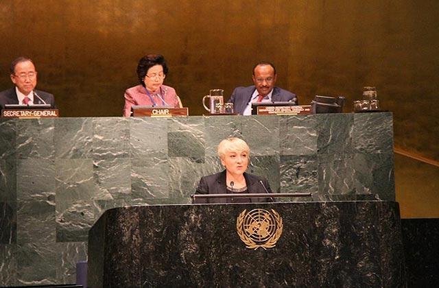 J'étais à l'ONU avec Pascale Boistard pour débattre des droits des femmes (1/2)