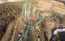 Le Fury325, l'un des rollercoasters les plus rapides du monde