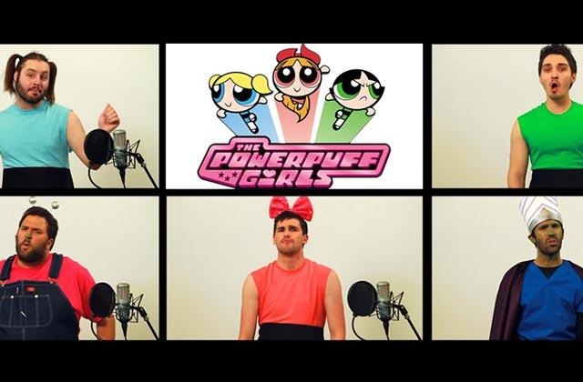 Le générique des «Super Nanas» repris a cappella par The Warp Zone