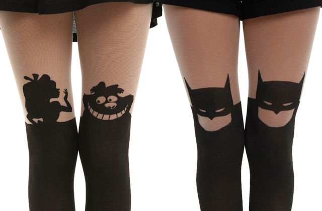 Hot Topic sort une collection de collants pop-culture !