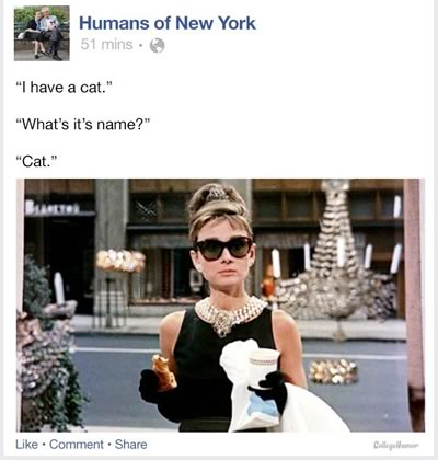 humans of new york breakfast at tiffanys