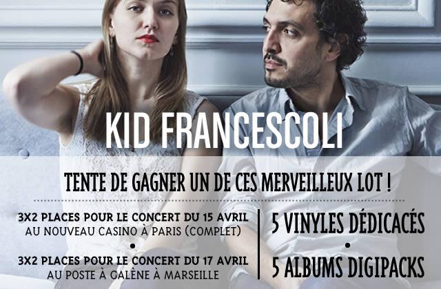 Kid Francescoli est en tournée — Places de concert et vinyles à gagner !