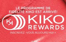 Kiko lance un programme de fidélité interactif