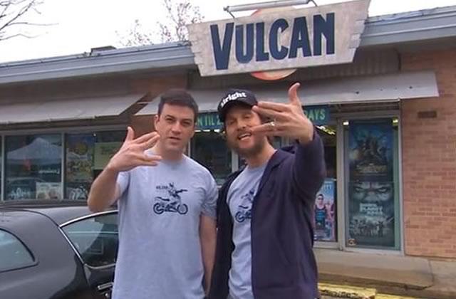Matthew McConaughey et Jimmy Kimmel font une pub pour… un vidéo club