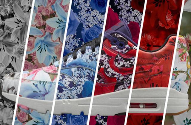 Nike lance une collection de baskets fleuries, parfaites pour le printemps 2015