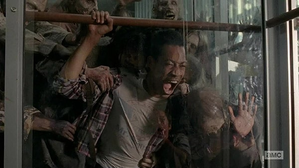 The Walking Dead saison 5 mort Noah