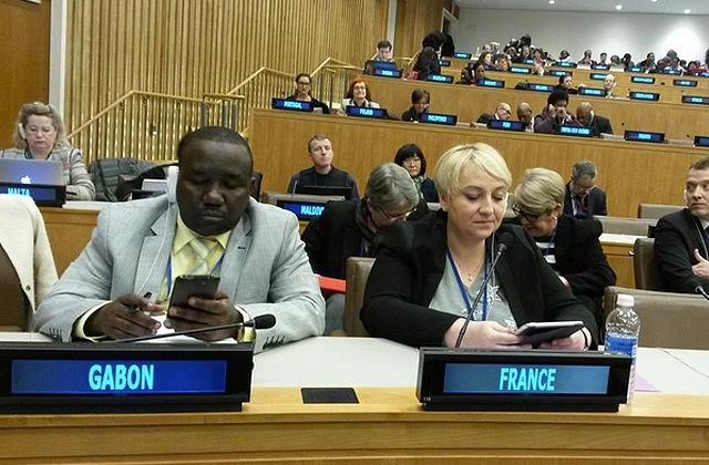J'étais à l'ONU avec Pascale Boistard pour débattre des droits des femmes (2/2)