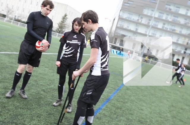 Le Quidditch moldu en vidéo avec l'équipe de Nantes