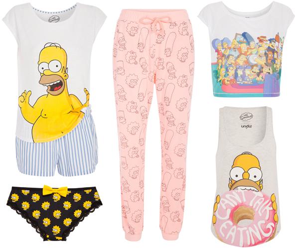 Pyjama Simpson Femme Undiz