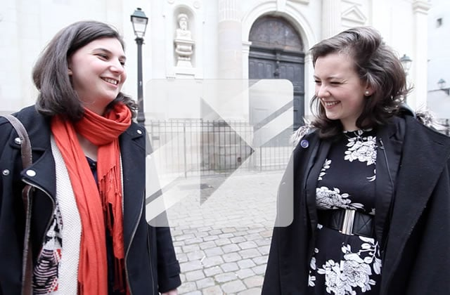 Street Style — Léa et Amélie, deux fidèles du forum madmoiZelle