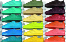 La Superstar d'Adidas relookée par Pharrell Williams