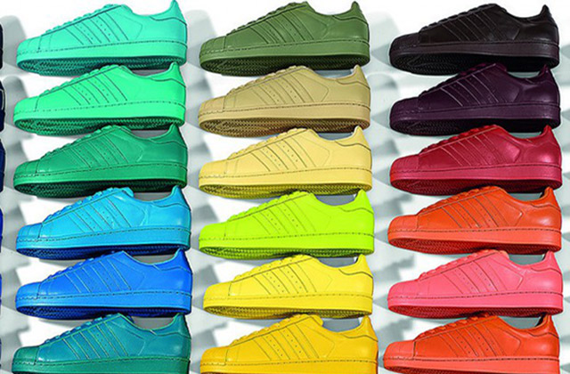 chaussures de séparation 4d33b 9bede La Superstar d'Adidas relookée par Pharrell Williams