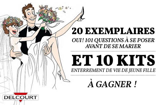 «OUI ! 101 questions à se poser avant de se marier», de Margaux Motin & Pacco, vous fait gagner des cadeaux !