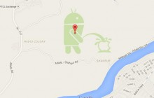 Android urine sur Apple sur Google Maps