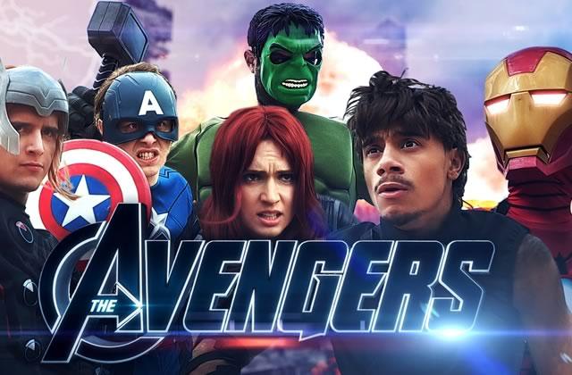 Norman, Cyprien et leurs potes deviennent des Avengers (en carton)