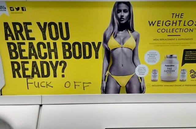 « Are you beach body ready », l'affiche sexiste, jugée « non offensante »