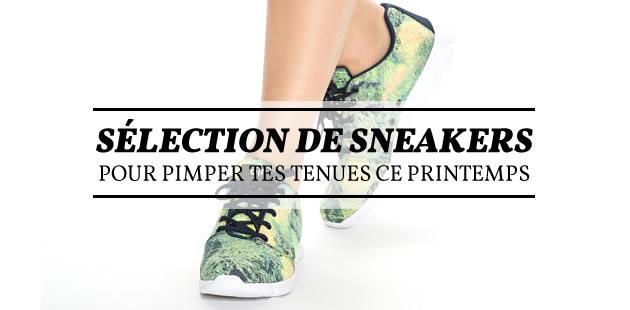 Sélection de sneakers pour pimper tes tenues ce printemps