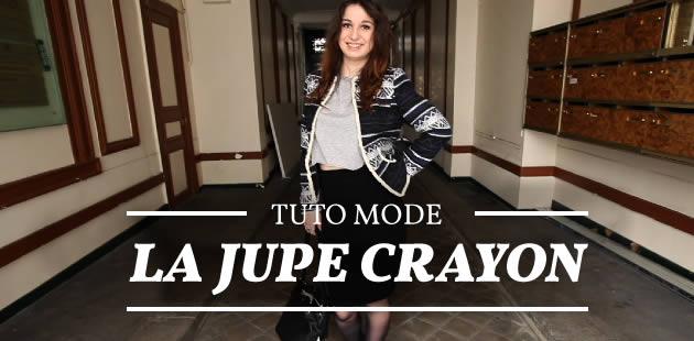 Tuto Mode — La jupe crayon
