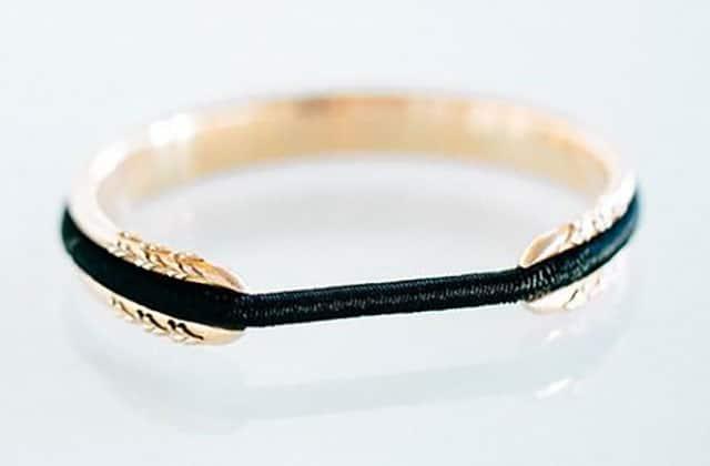 Le bracelet porte-élastique, une fort bonne idée