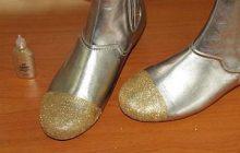 Comment faire des chaussures à paillettes ? – DIY mode