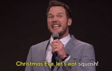 Chris Pratt chante « Uptown Funk » version karaoké-kamoulox