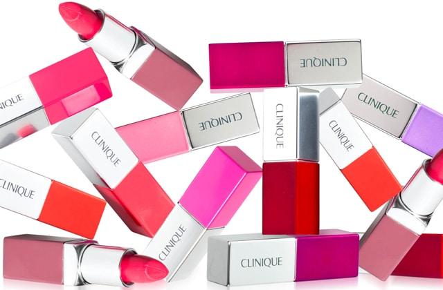 Clinique sort une nouvelle ligne de rouges à lèvres aux teintes éclatantes !